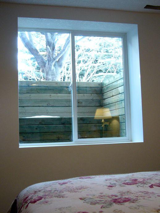 Wood Window Well & Basement Window Wells Installation Calgary   Basement Technologies ...